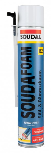 Soudal Soudafoam B2 Adapter 750 ml Montageschaum